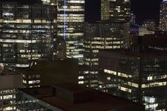 cn miejsca budowy skyline żaglówek Toronto pierwszoplanowy wieży Kanada zdjęcie royalty free