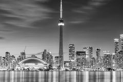 cn miejsca budowy skyline żaglówek Toronto pierwszoplanowy wieży Obrazy Stock