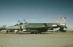 CN 4028 1 Oktober, 1983 van de USAF McDonnell F-4E 69-7574 Stock Foto