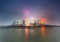CN Pudong Bright Tower Royalty Free Stock Images