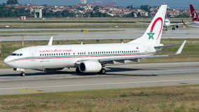 CN-RGK Royal Air Maroc, Boeing 737 - 800 Imagem de Stock Royalty Free