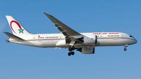 CN-RGT Royal Air Maroc, Boeing 787-8 Dreamliner Imagens de Stock
