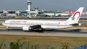 CN-RNS Royal Air Maroc, Boeing 767-300ER stock photos