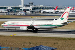 CN-ROH Royal Air Maroc , Boeing 737-85P Stock Photo
