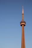 CN Toren bij zonsondergang Royalty-vrije Stock Afbeelding
