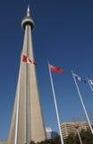CN toren in Toronto, Ontario Stock Foto's