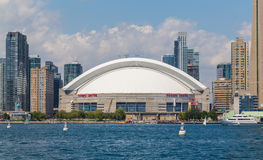 CN Tower And Rogers Centre Stock Photography