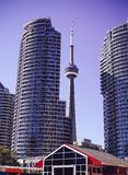 CN Tower stock image