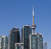 CN Tower and Condos Stock Photo