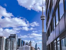 CN Tower in the daytime stock image
