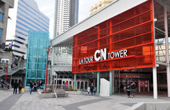CN Tower enter Royalty Free Stock Images