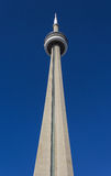 CN Tower from the ground Royalty Free Stock Photos
