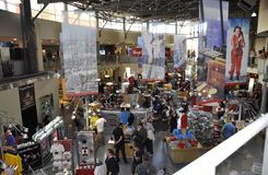 Toronto, 24th June: CN Tower interior Shop from Toronto in Ontario Province Canada. CN Tower interior Shop from Toronto in Ontario Province of Canada on 24th Stock Photography