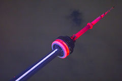 CN Tower - Night Royalty Free Stock Images