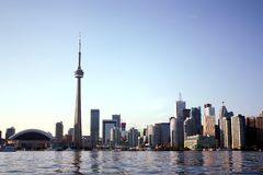 CN tower skyline Royalty Free Stock Image