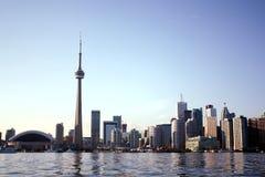 CN tower skyline Royalty Free Stock Image