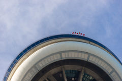 The CN Tower and the Skywalk Stock Images