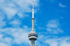 The CN Tower on a Sunny day Royalty Free Stock Photography