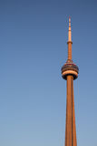 CN Tower at sunset Royalty Free Stock Image