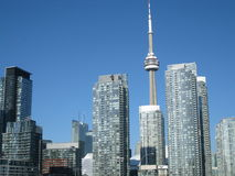 CN Tower in Toronto Royalty Free Stock Photography