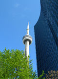 CN Tower, Toronto. Canada, North America. This is the highest building in Toronto Royalty Free Stock Photography