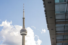 Cn tower in Toronto Stock Image