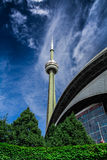 CN Tower in Toronto, Canada Royalty Free Stock Photos