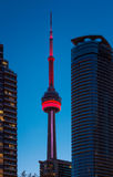 CN Tower in Toronto Canada Royalty Free Stock Images