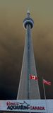 CN Tower in Toronto, Canada Royalty Free Stock Image