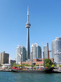 CN Tower in Toronto Stock Photos