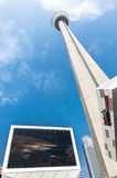 Cn Tower Toronto Stock Image