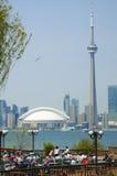 CN Tower Toronto skyline Royalty Free Stock Photography