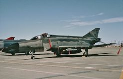 CN 4488 van de USAF McDonnell F-4E 72-1167 in Holloman AFB, NM Stock Fotografie