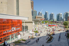 CN &#x28 van Toronto; Canadese National) Toreningang, Toronto Royalty-vrije Stock Fotografie