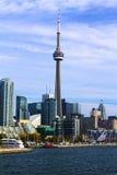 CN van Toronto Toren Stock Foto's