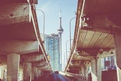CN wierza w Toronto Kanada obraz royalty free