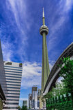 CN wierza w Toronto, Kanada Fotografia Royalty Free