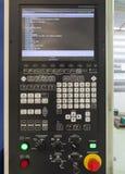 CNC机械中心机器控制板  免版税图库摄影