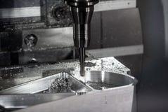 CNC金属处理机 库存照片