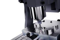 CNC铣床 行业概念 免版税库存照片
