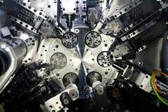 cnc εργαλειομηχανή στοκ εικόνα