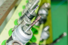 CNC εργαλεία Στοκ Εικόνες