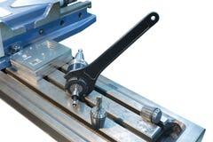 CNC εργαλείων άλεσης κλειδαριών γαλλικών κλειδιών η συνέλευση απομονώνει στοκ εικόνες με δικαίωμα ελεύθερης χρήσης
