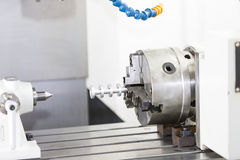 CNC κεντρική τέμνουσα φόρμα κατεργασίας Στοκ Εικόνες