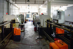 CNC μηχανές άλεσης Στοκ Εικόνες