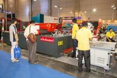 CNC μηχανή Στοκ εικόνες με δικαίωμα ελεύθερης χρήσης