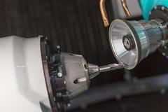 CNC μύλοι για την επισκευή των μύλων τελών στοκ εικόνες με δικαίωμα ελεύθερης χρήσης