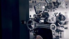 CNC οργάνωσης μηχανικών μηχανή απόθεμα βίντεο