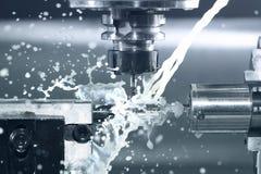 CNC στην εργασία Στοκ φωτογραφία με δικαίωμα ελεύθερης χρήσης