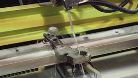 CNC σύγχρονη βιομηχανική τεχνολογία τεμνουσών μηχανών προβολών ύδατος Τέμνουσα μηχανή μετάλλων με το νερό